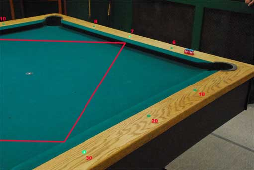 table professional pool diamond